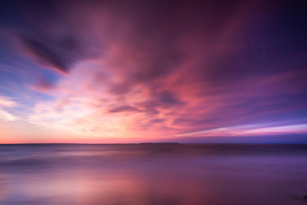 Plemont Sunset