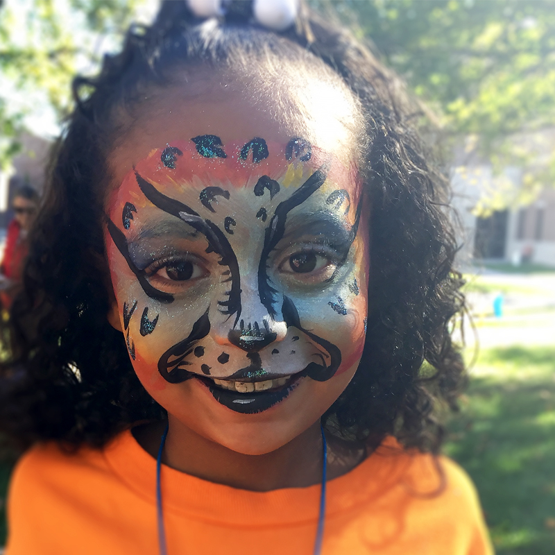 Tiger Girl - Face Painting