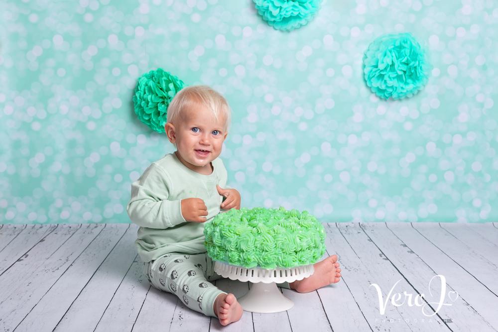 Vero J Fotograf Cake Smash Stockholm