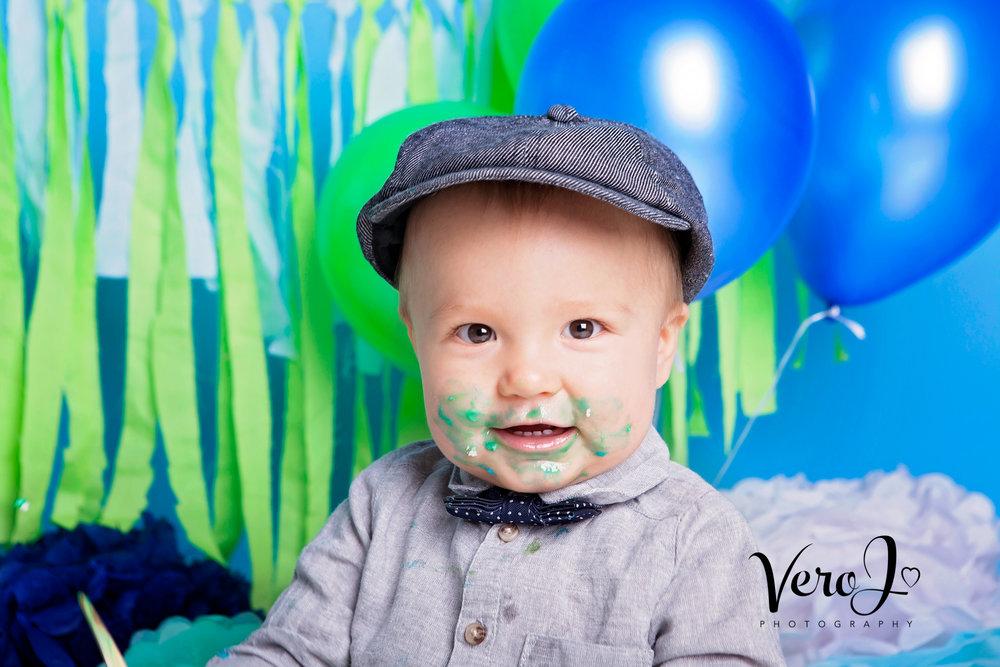 Cake Smash Fotograf Vero J Fotograf Stockholm