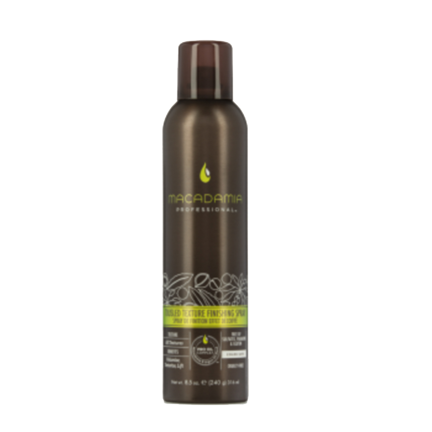 Macadamia Tousled Texture Finishing Spray ($25)