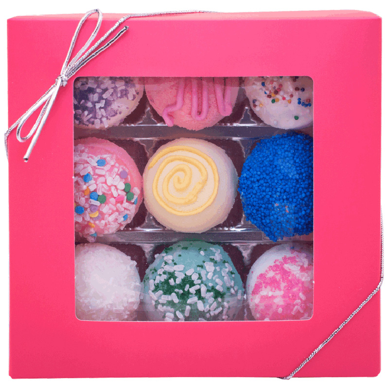 Assorted Foaming Fizzy Bath Truffles ($20)