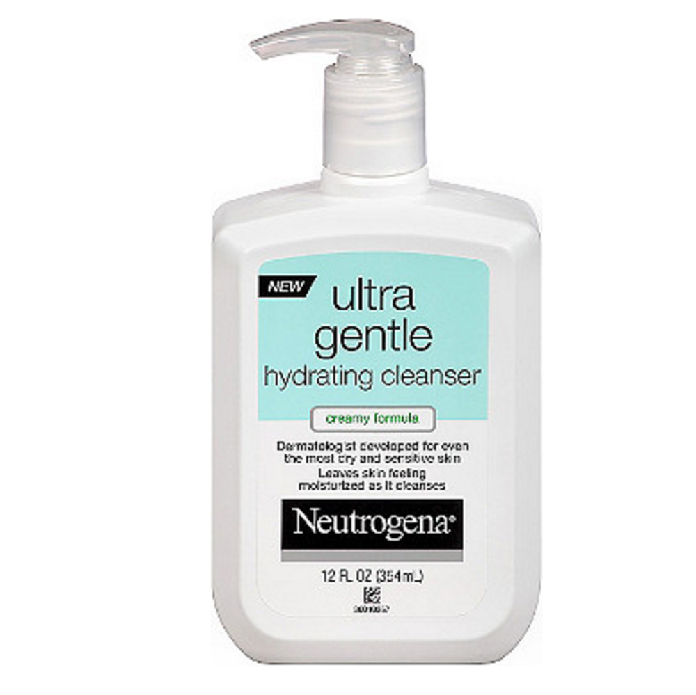 Neutrogena Ultra Gentle Hydrating Cleanser, Creamy Formula ($9.99)