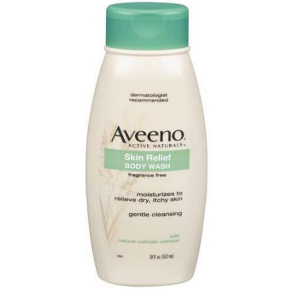 Aveeno Active Naturals Skin Relief body wash – fragrance free ($6.68)