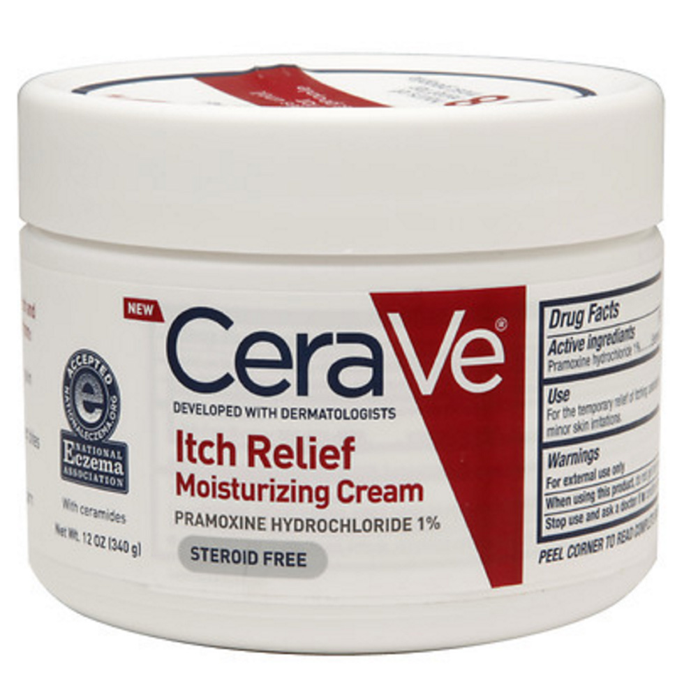 CeraVe Itch Relief Moisturizing Cream ($21.99)