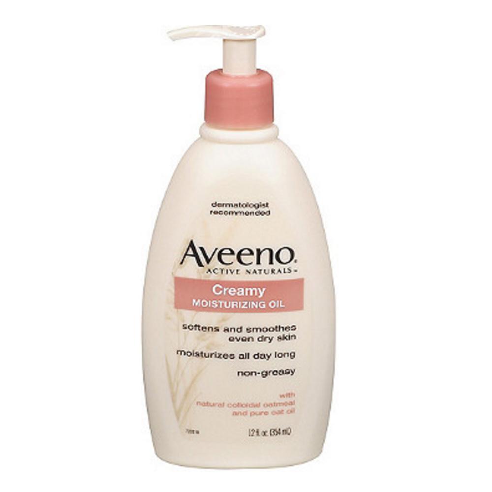 Aveeno Active Naturals Creamy Moisturizing Oil ($8.99)