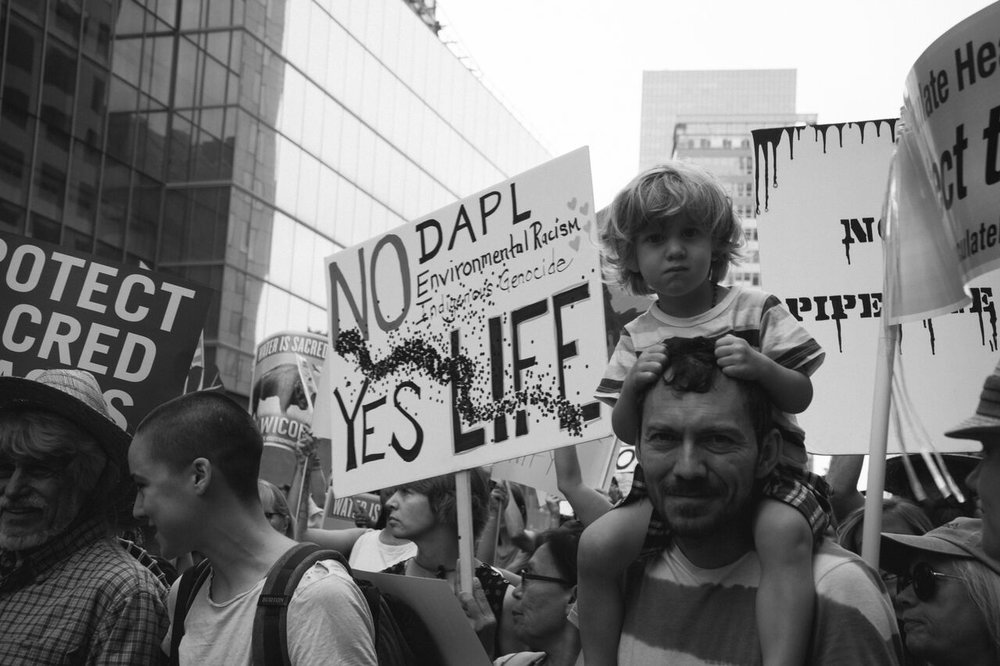 Digital by TK Anderson : NO DAPL , Downtown Los Angeles Protest
