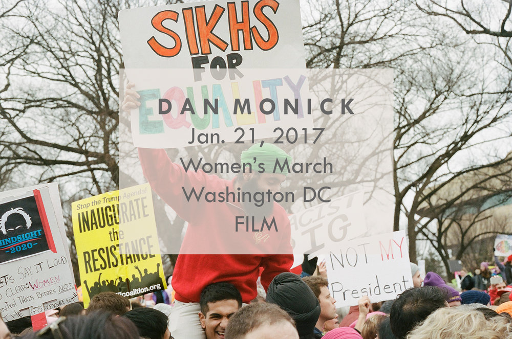 DAN MONICK FILM Washington, DC Women's March DC Jan. 21, 2017