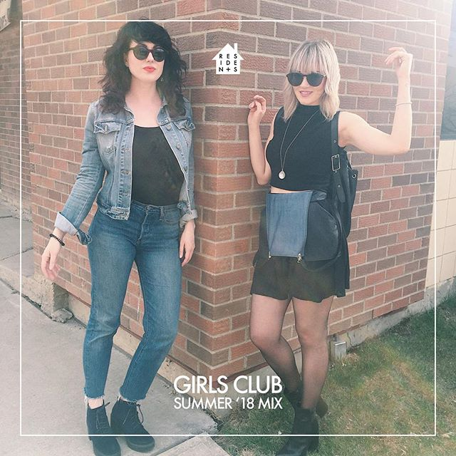 An exclusive new mix from one of our faves, @girlsclubdjs. Perfect for this hot summer weather! ☀️☀️☀️ LINK TO MIX IN BIO #residentstv