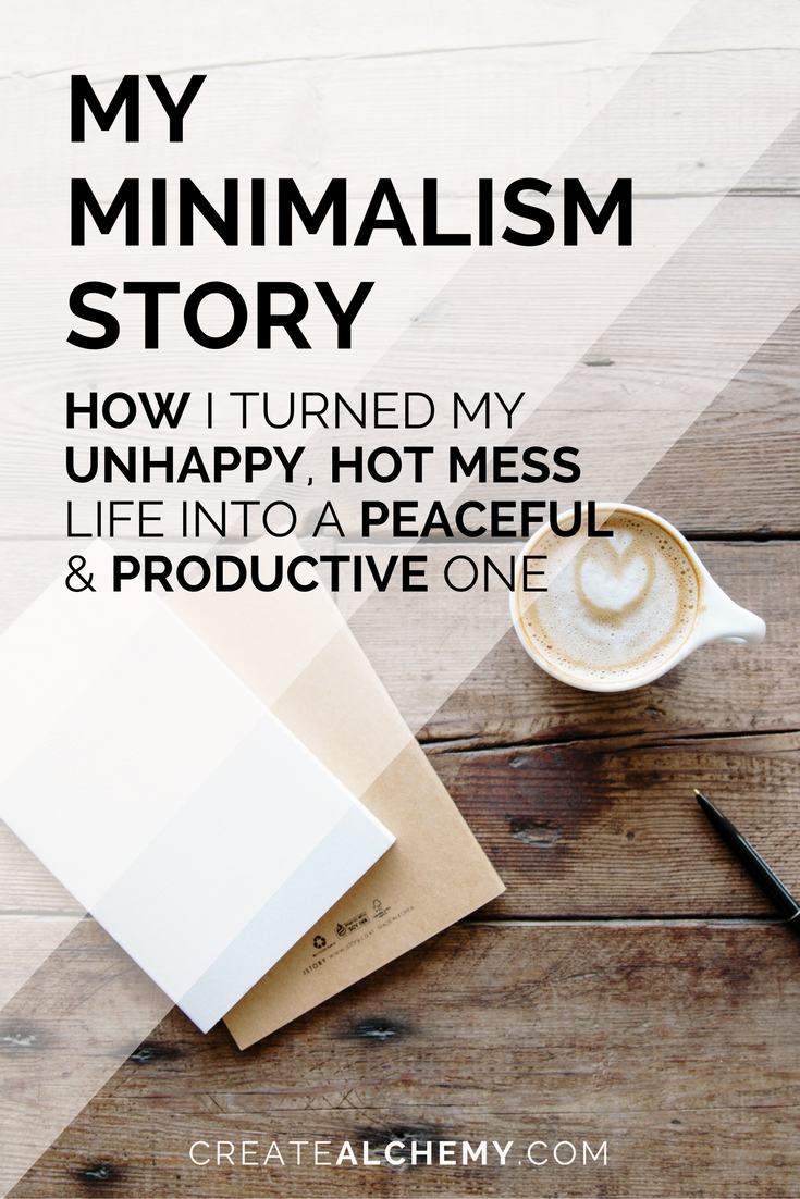 How I found happiness and productivity with Minimalism