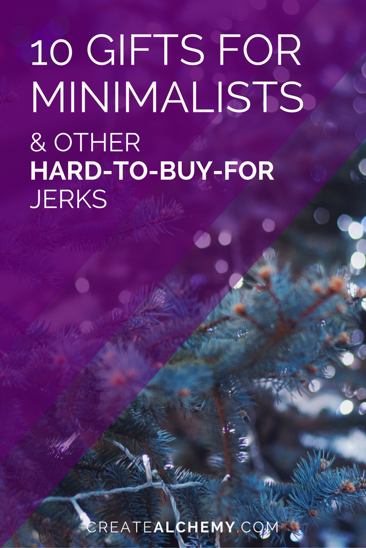 10 Gifts for Minimalists & Hard to Buy For People