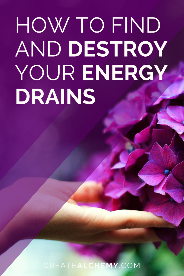 You have big plans for BIG DREAMS but you're foggy, distracted, frustrated, and apathetic from all the crap cluttering up your head. If only you could destroy those Energy Drains before they destroyed your creative process.Well, actually you can. READ ON to find out how!