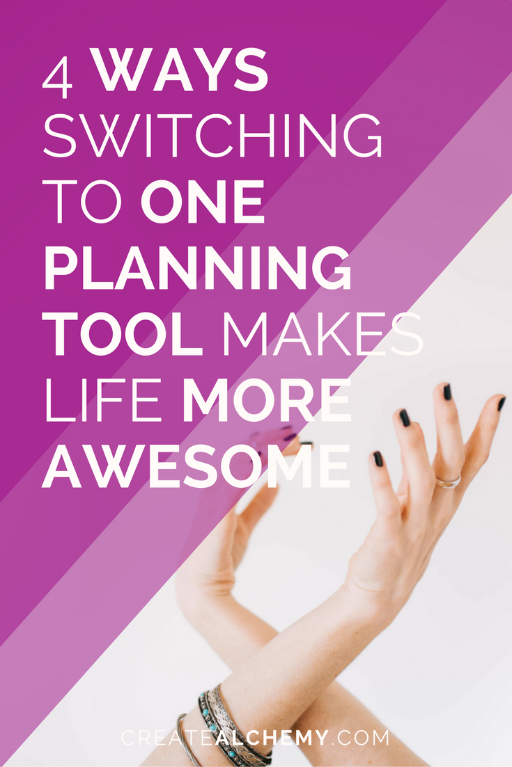 4 ways switching to one planning tool makes life and biz more awesome