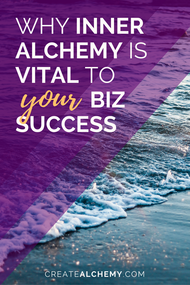There are four parts to the Alchemical Transformation. Without them, you'll always struggle to not feel overwhelmed and to get things done with your passion business. Read on to find out how Inner Alchemy can help you work better and work smarter.