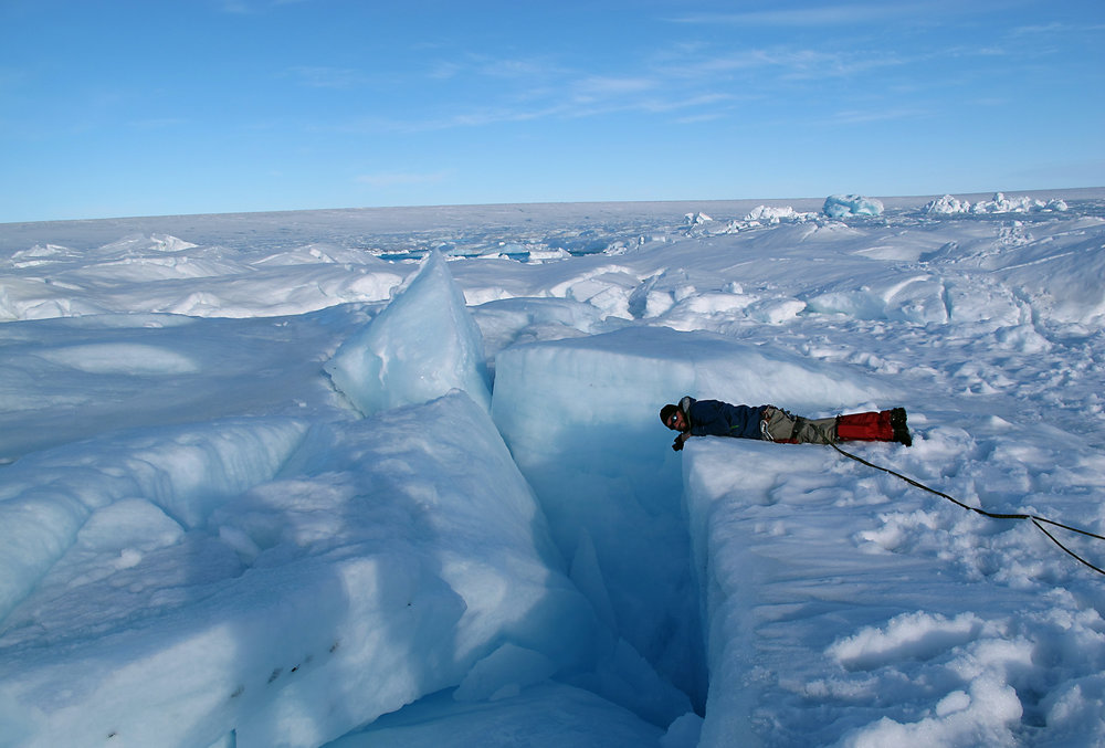 """8 - The dangers of the race also note """"danger of falling into a crevasse, it was strictly forbidden to leave the marked route on the ice sheet""""."""
