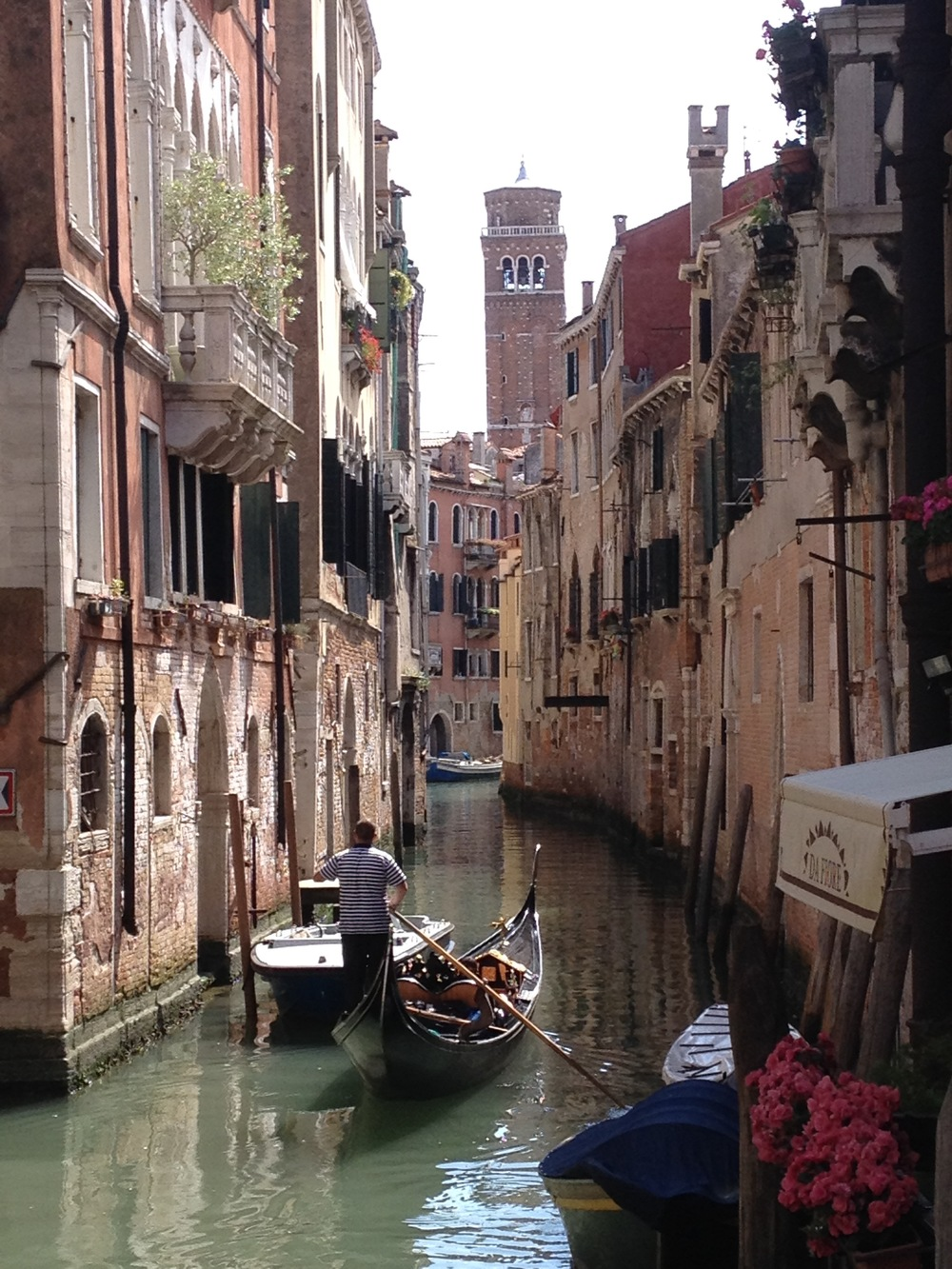 Venice. We had forgotten just what a picturesque city this is. No need here to set up a shot--just take the lens cap off and shoot.