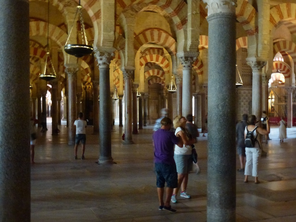 We took a turn to the south into the Andalusia region, first visiting Cordoba and then Granada: Cordoba for La Mezquitaop, once the largest mosque in Europe (and third largest in the world) though it is now used as a Cathedral and then to Granada for the Alhambra, the most popular destination in Spain.