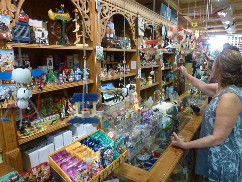 The toy store in Ronda.