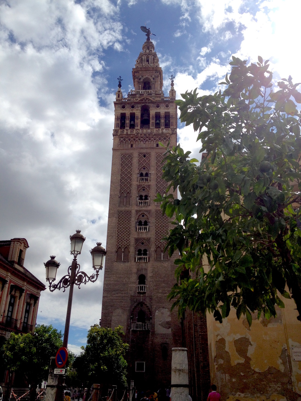 Giralda Tower in Seville, Spain