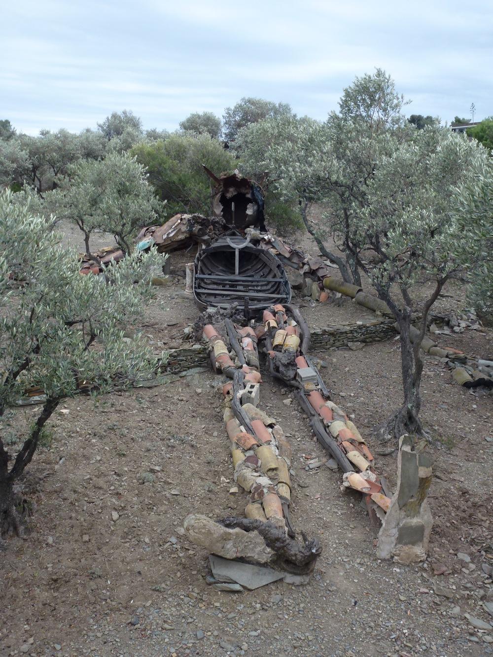 Salvador Dali's backyard