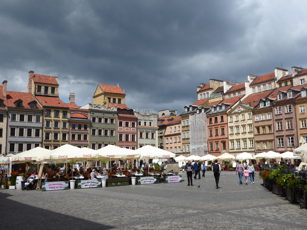 . . . the restored Old Town is more tourist-friendly.