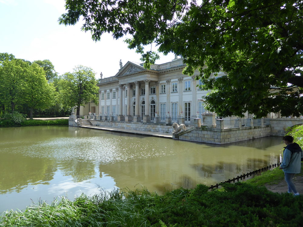 This park, in the middle of Warsaw, is a peaceful escape from the rest of the city.