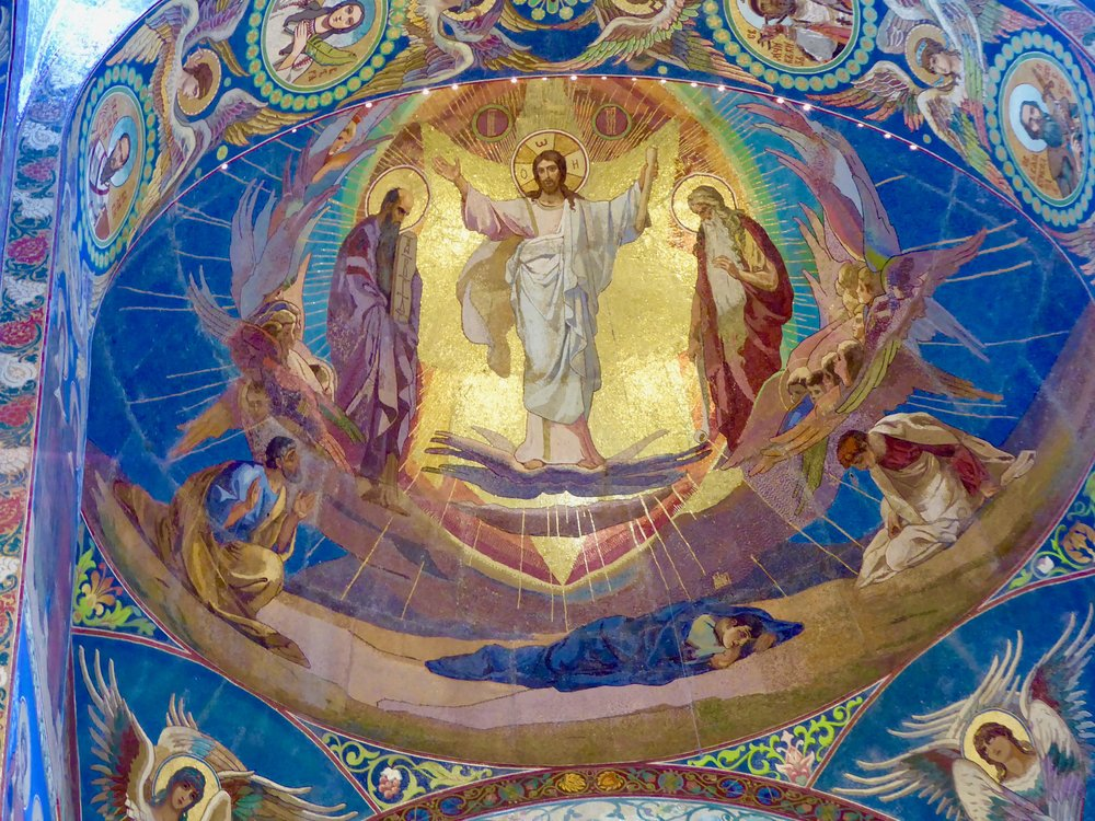 It seems that everywhere you look, there are ever more incredible mosaics in this church.