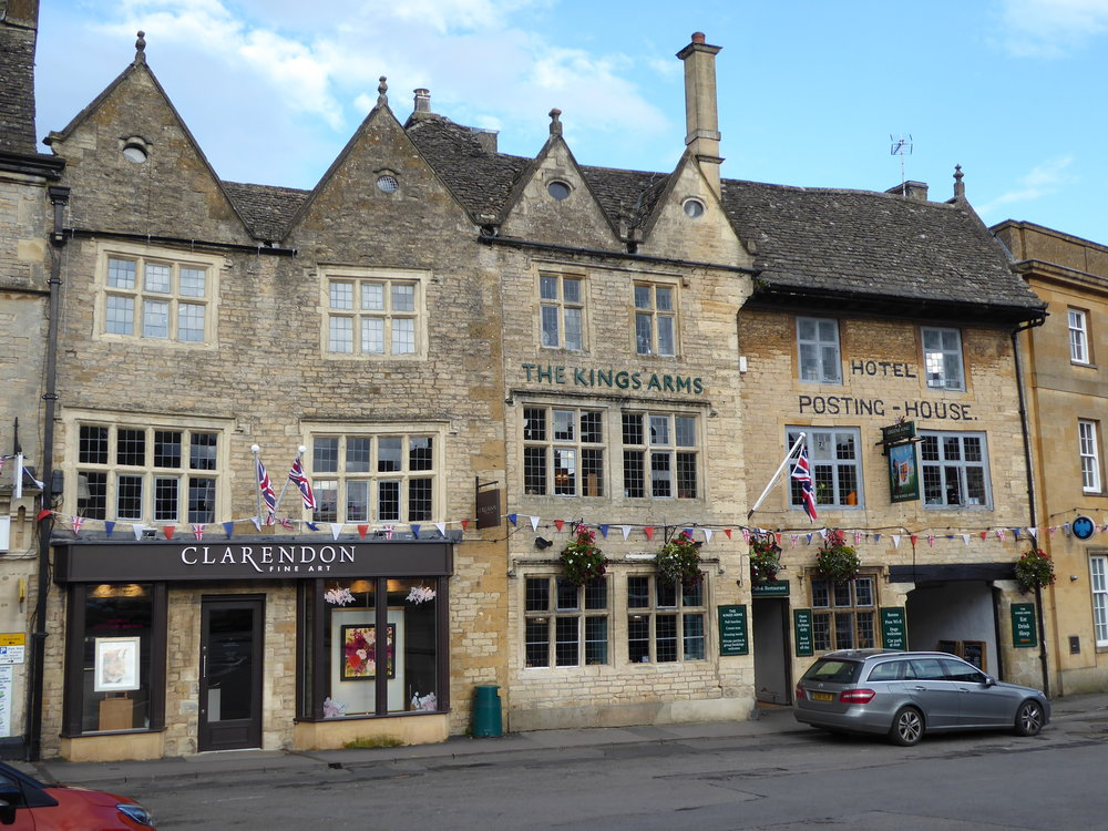 Many quaint villages like Stow-On-The-Wold to visit in the Cotswolds area of England.
