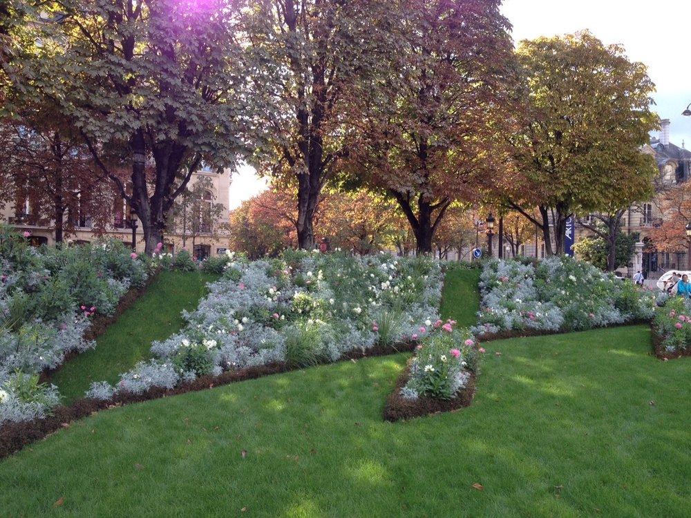 So many manicured public gardens