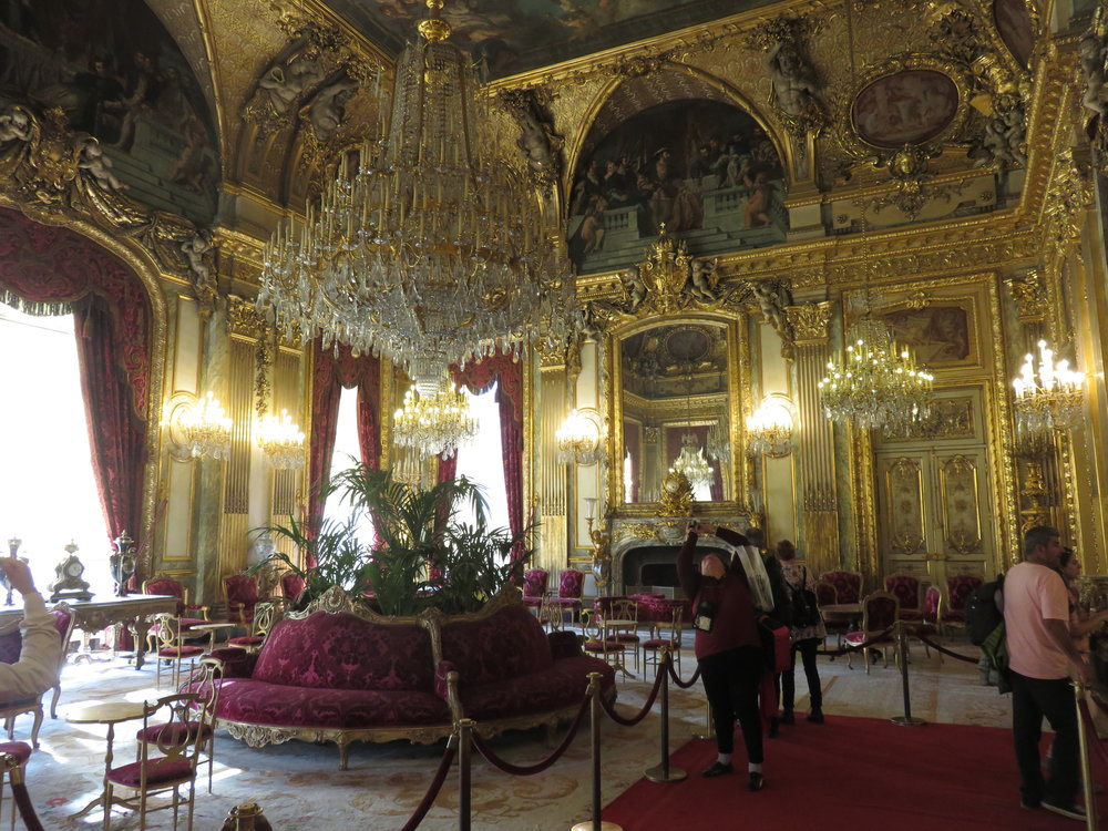 """We were unaware that Nepolian's Apartments were within the Louvre. A """"must-see"""" in our opinion."""