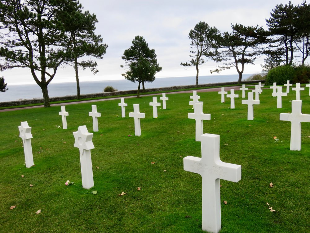 The extraordinary American Cemetery overlooking Utah Beach, Normandy