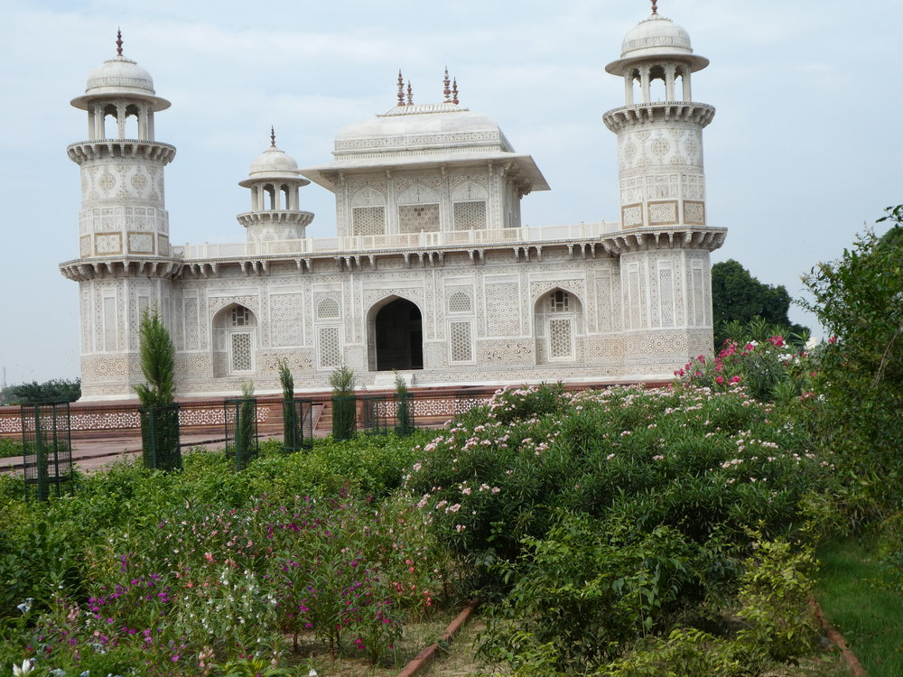 Tomb of I'timād-ud-Daulah, sometimes called the Baby Taj.