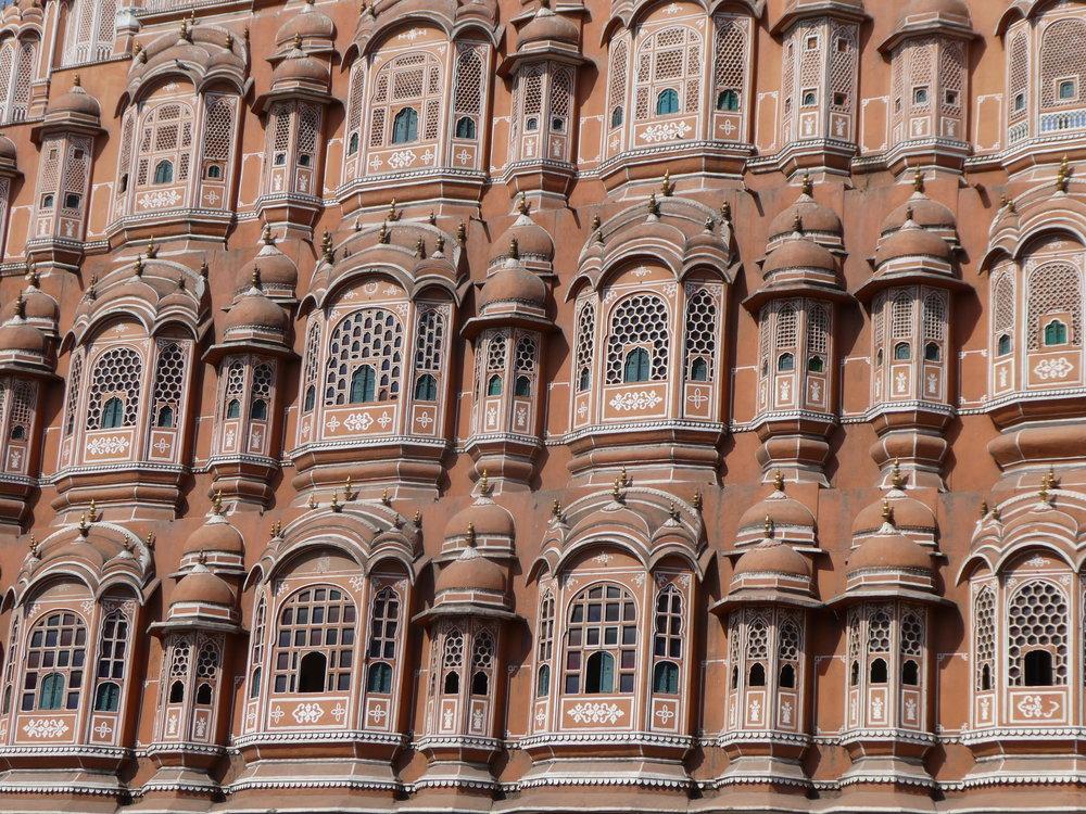 Hawa Mahal in Jaipur.