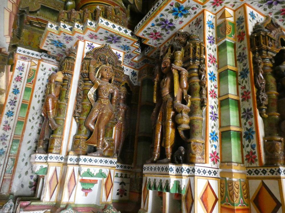 Visit to a Jain temple.