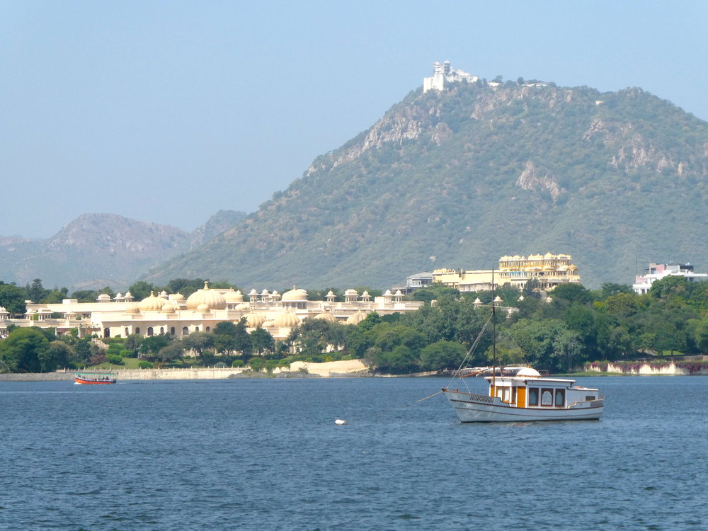 A new part of India for us — Udaipur.
