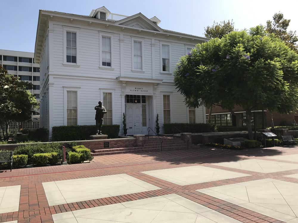 USC's first building, now the Alumni House