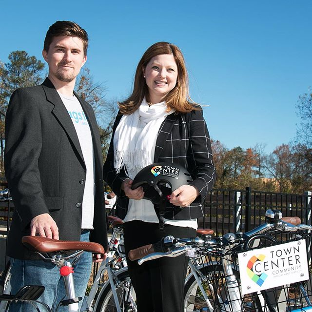 Zagster launches bike sharing in Town Center CID