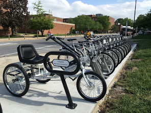 College Park's mBike bike share