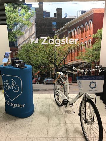 Zagster bike share suburbs