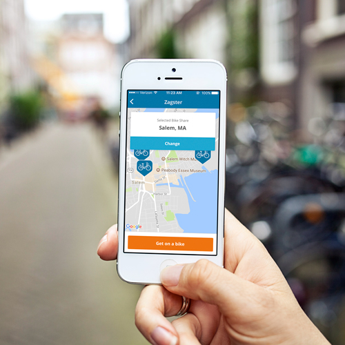 1. Get the app - Create an account and join your Zagster bike share.
