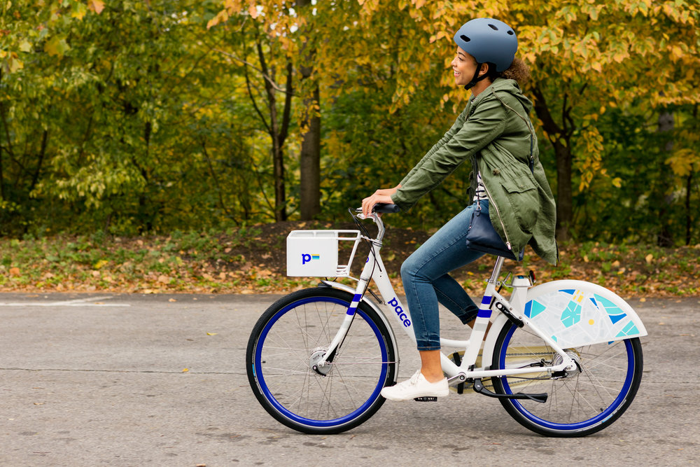 Introducing Pace   Dockless bike sharing for cities and colleges   Learn more