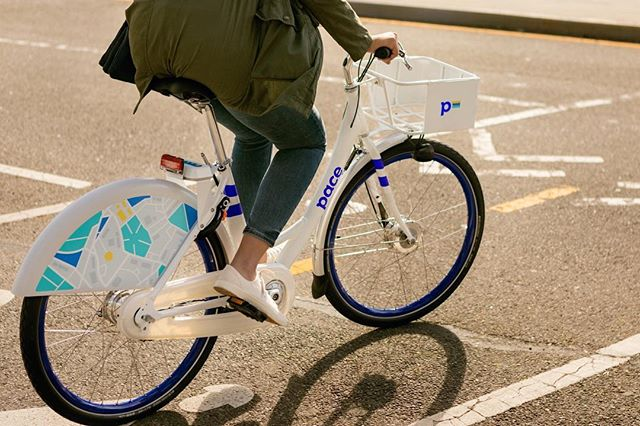 Today we are introducing @pacebikeshare, a new nationwide bike sharing service for cities and colleges. Click the link in our bio for a word from our CEO & founder, Tim Ericson. #FindYourPace