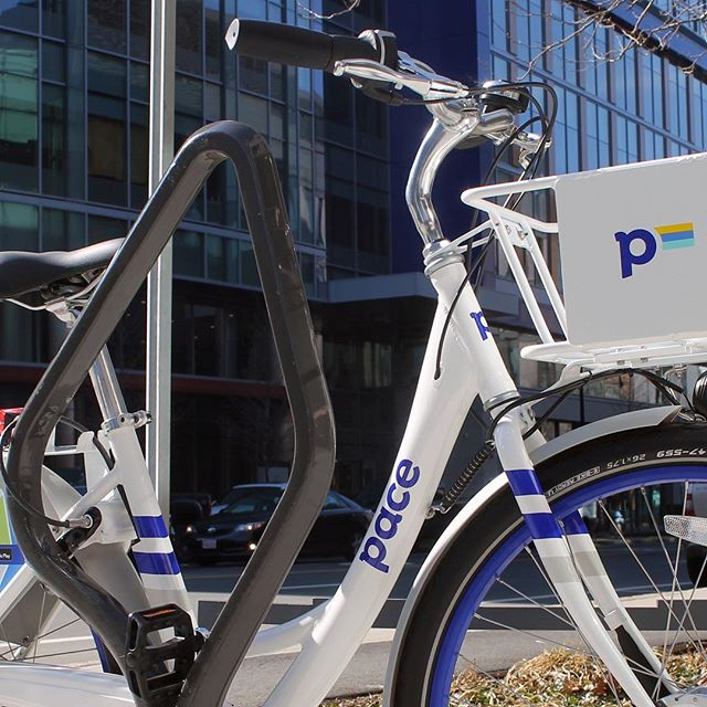 Today, Rochester's lock-to dockless bike share got a makeover. White and blue Pace bikes have hit the streets with an expanded coverage area, enhanced features, and of course— a new look. For more on our Pace dockless model and how to ride in Rochester, visit ridepace.com. ... #PaceROC #findyourpace