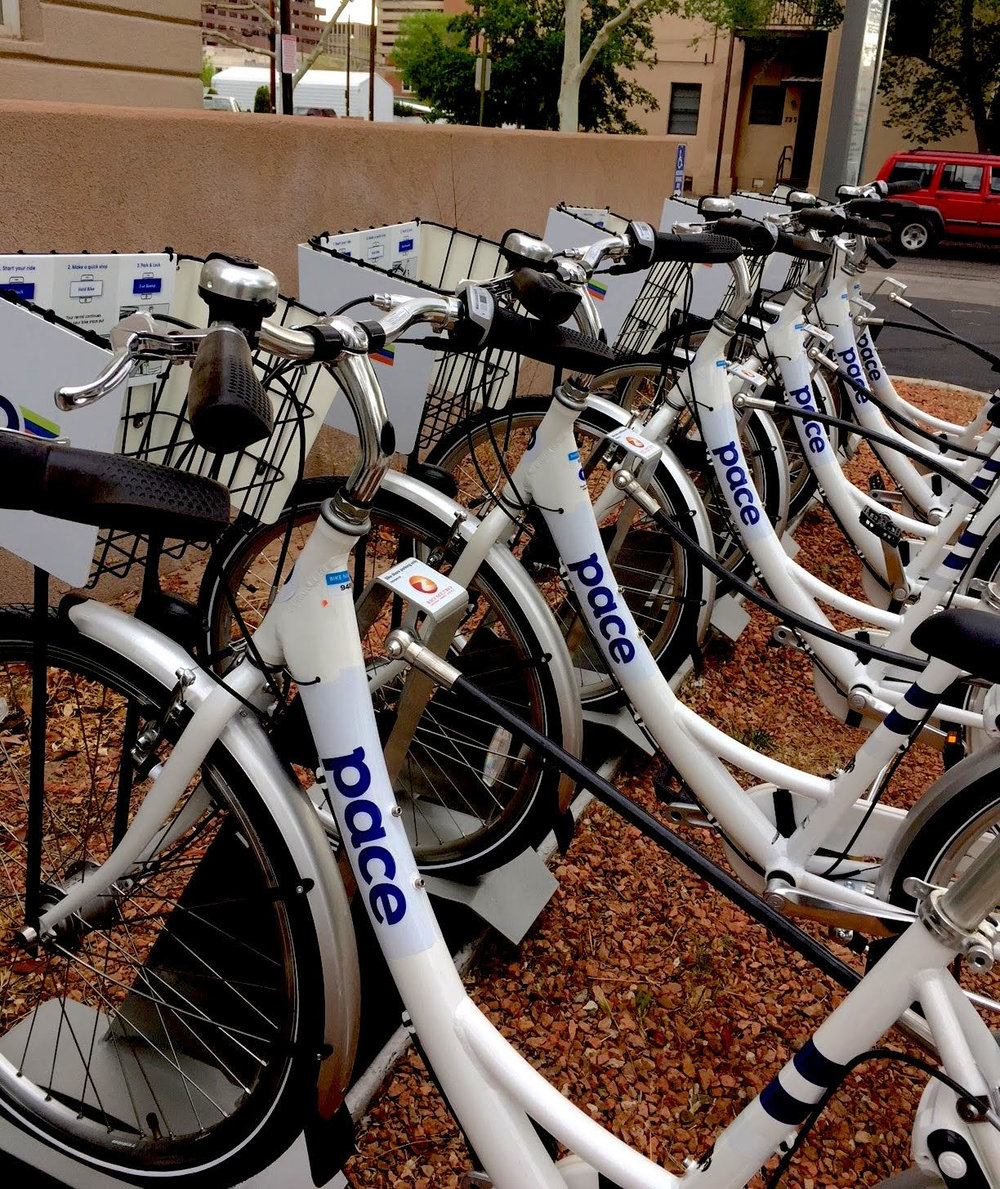 A match made in heaven: Zagster, Pace and Rio Metro have brought a viable ride option to ABQ.