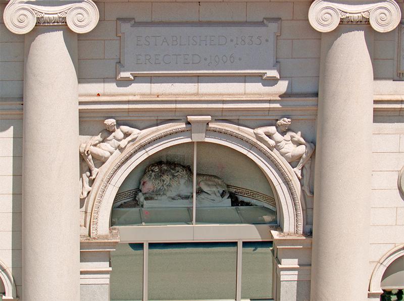 Hanover Saving Fund Society's Lion