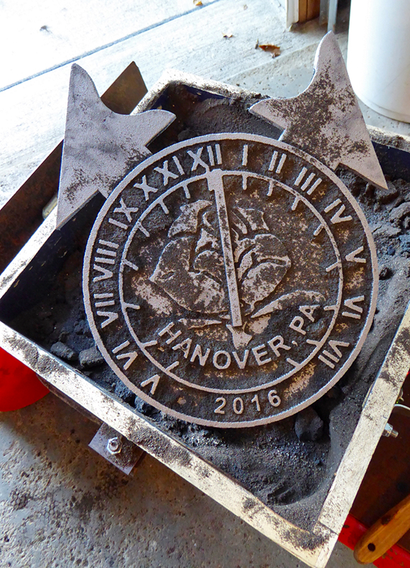 Sundial and gnomons - courtesy of Chet Roberts/ANCR Sundials