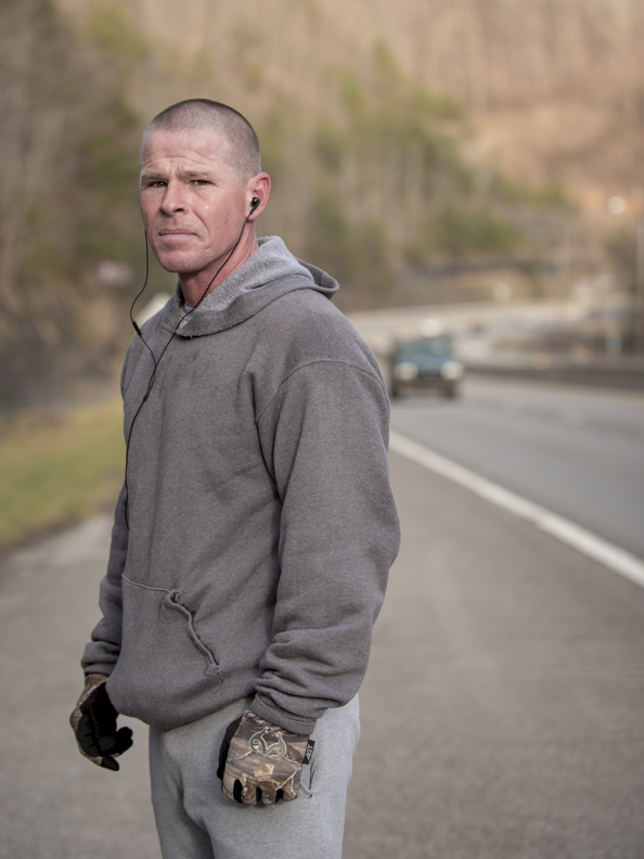 Highway runner. Nippa, KY.