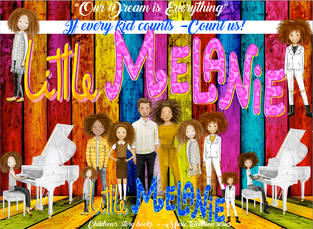 LITTLE MELANIE LIVE   - NEW BOOK - FILM - TELEVISION EPISODE            CELEBRATION TRIBUTE : THE SPICE GIRLS 20TH YEAR