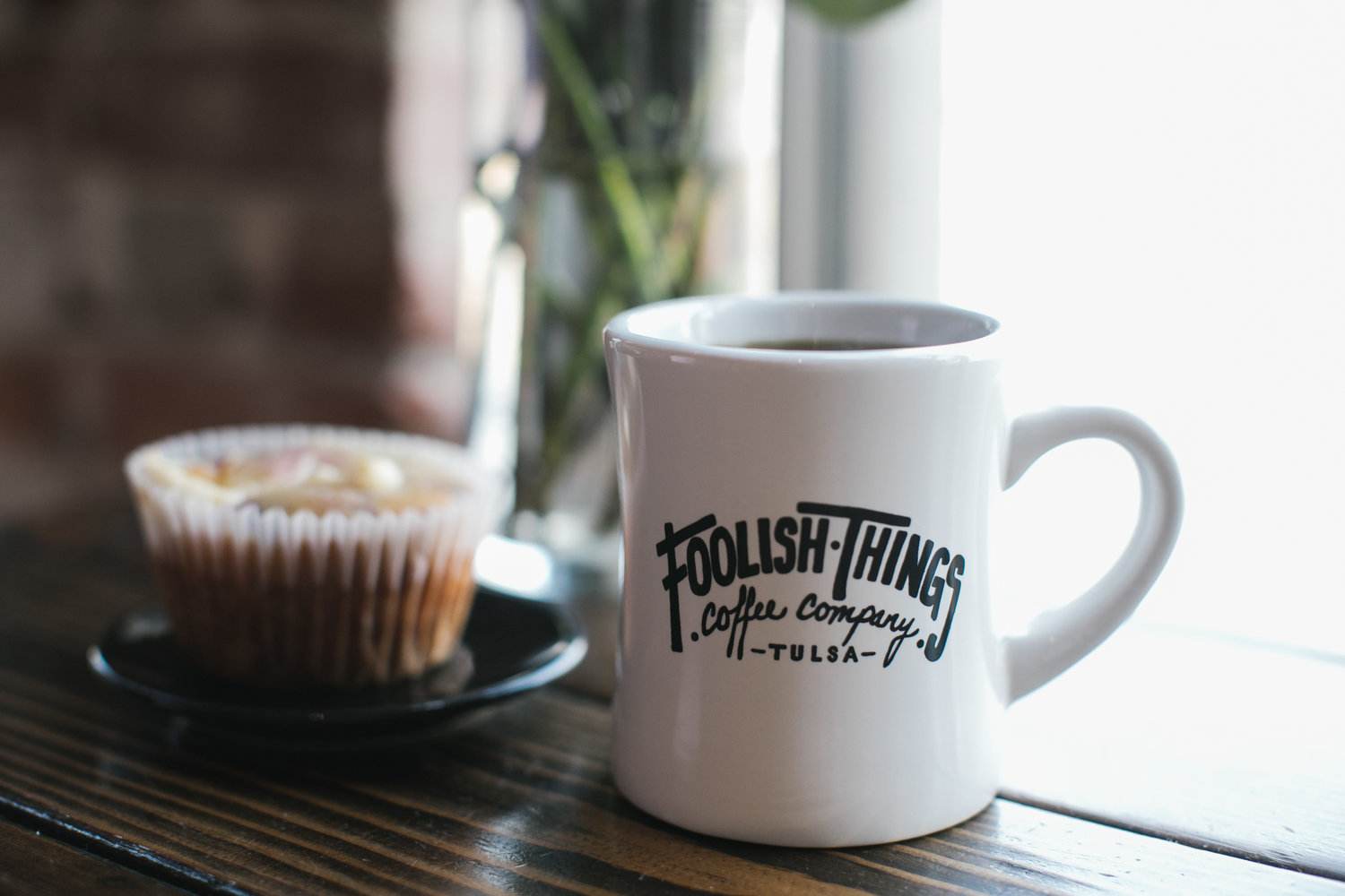 Image result for foolish things coffee logo
