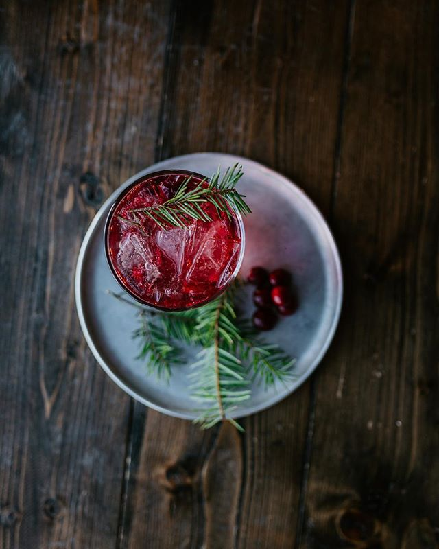 Hot Pine Bling. Yep, we said bling. Honey. Soda. Cranberries. Yum. . . . #foolishcoffee #coffee #coffeeshop #tulsacoffee #downtown #downtowntulsa #shoplocal